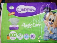 Resenha: Fralda Cremer Magic Care
