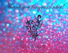 Thank you for your order! https://www.youniqueproducts.com/AmandaDesrochers