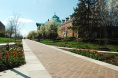 Ohio Wesleyan University, Delaware, OH. It looks so nice in this picture.