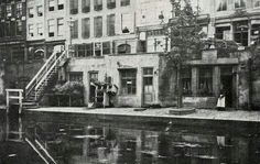Utrecht, the Netherlands 1900 Utrecht, North Sea, Old Pictures, Dutch, Europe, Black And White, City, Places, Painting