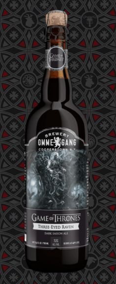"""Awesome Game of Thrones Gifts for Him: """"Three-Eyed Raven"""" Beer at Brewery Ommegang -- Available April 2015"""
