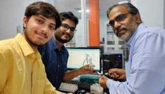 A research team from IIT Madras' Department of Chemistry, led by T. Pradeep has fabricated a nanofibre sensor, which is capable of sensing minute variations in relative humidity levels in the exhaled breath. Humidity Sensor, Relative Humidity, Chemistry, Breathe, Led, Electronics