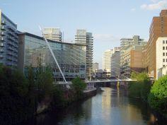 Antonio Calatrava - Trinity Footbridge - Salford England - 1993-1995