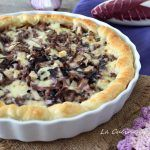 Savory pie with radicchio and sausage – backen Strudel, Quiches, Muffins, Pizza, Savoury Dishes, Antipasto, Soul Food, Street Food, Finger Foods