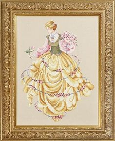 Dance Of The Roses by lavender and Lace - Cross Stitch Pattern