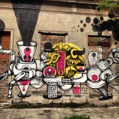 so pretty!!  Abducción. -street art - Buenos Aires