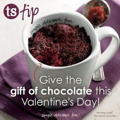 Chocolate Valentine's Day Gift Idea | Tastefully Simple