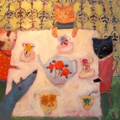 Vanessa Cooper:  http://www.vanessa-cooper.co.uk/gallery.html