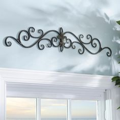 Give her the gift of beautiful home decor this Christmas! Kirkland's Distressed Black Fleur-de-Lis Metal Plaque is the perfect addition for her bedroom, hallway or living room.