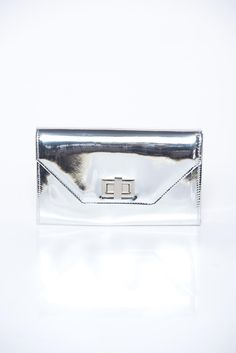 Silver bag elegant clutch from shiny fabric, shiny fabric Silver Bags, Shiny Fabric, Spring New, Elegant, Collection, Classy, Chic