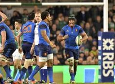 Thierry Dusautoir Irlande France 6 nations 2015