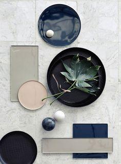 Broste Copenhagen is one of Scandinavia's leading interior brands, based in Copenhagen and originates back to 1955 Mood Board Interior, Interior Styling, Interior Design, Material Board, Broste Copenhagen, Mood And Tone, Style Deco, Colour Board, Dinner Sets
