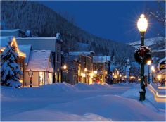 Crested Butte, Colorado at Christmastime. Been going there ever since I was 8 years old.