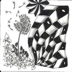 Deep Magic Tangles: Gallery    - #DRAW #ZENTANGLE #ZENDALA #TANGLE #DOODLE #BLACKWHITE #BLACKANDWHITE #SCHWARZWEISS