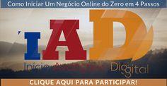 Aprenda a fazer negócios online de maneiras simples com o Adailton César no Início Avançado Digital: IAD 3.0. https://go.hotmart.com/L4951615Y  #PreçoBaixoAgora #MagazineJC79