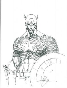 Cap sketch by Michael Turner