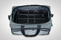 Buccaneer Portable Charcoal Grill /& Cooler Tote, ONIVA Black with Gray Accents a Picnic Time brand Ohio State Buckeyes