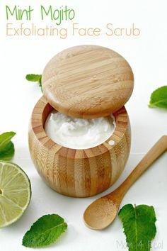 Mint Mojito Exfoliating Face Scrub