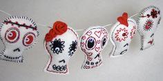 Mexican Day of the dead for senorita