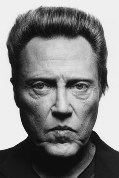 Christopher Walken - this man just spooks the jeepers out of me. Must attest to his great acting!