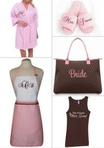 Blog: Bridal Shower gifts she will love!