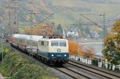 DB AG | 111 001-4 | TEE Lr 91340 | Oberwesel | 28.10.2015 | (c) Uli Kutting