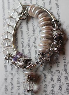 ON SALE chunky bracelet multi strand wrap bracelet by soulfuledges