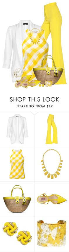 """""""Let The Sunshine In (5.11.16)"""" by stylesbymimi ❤ liked on Polyvore featuring Balmain, STELLA McCARTNEY, Topshop, Coach, Mojo Moxy, Knotty Gal and Évocateur"""