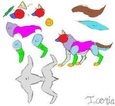 Wolf Plush Pattern by ~Icoria on deviantART
