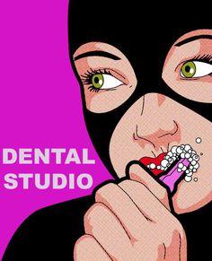 Dental Studio superhéroe consultorio dental