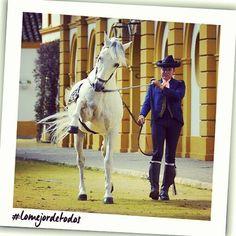 #Andalucía es pura #inspiración que lo contagia todo... los caballos de la Real Escuela del Arte Ecuestre de #Jerez lo demuestran! / You can find the inspiration everywhere in #Andalusia. The horses of Royal School of Equestrian Art in Jerez are an example!  #lomejordetodos #tumejortu #Cadiz #España #Spain #turismoandaluz #viveandalucia #turismo#tourism #viajar #viajes #travel