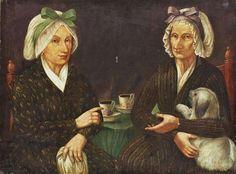 Alvan Fisher (American artist, 1792-1863) Coffee Clap Coffee clap probably comes from the term coffee klatschfrom German Kaffeeklatsch mea...