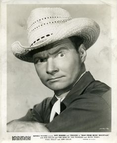 """~ Pat Brady ~ Sidekick to Roy Rogers as Camp Cook, Sparrow Biffle & drove his jeep """"Nellybelle""""...."""
