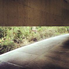 Corridor detail - Museo de Arte Contemporáneo by Teodoro González de León.