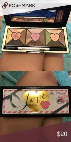Too faced palette Just colors i don't use much. Literally used once😊 Too Faced Makeup Eyeshadow