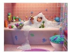 desain kamar mandi anak terbaru