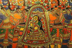 Sita Vidai, Madhubani Art (Bihar)
