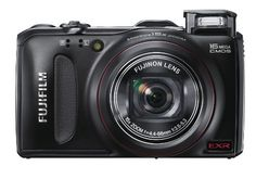 Fujifilm FinePix F550 EXR Black Digital Camera by Fujifilm. $154.00. The new EXR AUTO's optimal settings for various scenes and proprietary super-high resolution producing clear outlines enable you to take superb photos, always. Built-in GPS and Landmark Navigator let you enjoy exciting travels.