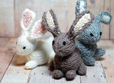 7 sweet handmade bunnies