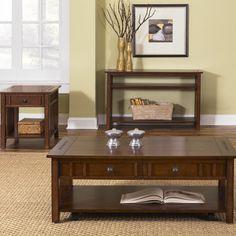 Liberty Furniture Prairie Hills Coffee Table Set