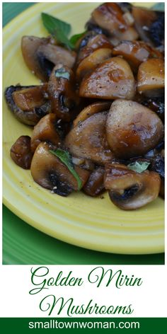 I adore mushrooms!  This easy recipe turns those little gifts from God into pieces of heaven. These little golden beauties are so easy that you will wonder how you have lived this long without them!