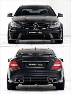 Brabus Bullit Coupe 800 #mercedes #brabus #bullit #coupe #car #benz #black #powerful #V12