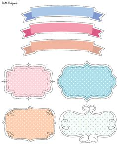 FREE printable doodle tags and labels
