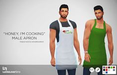 My Sims 4 Blog: Accessories - Clothing - Male