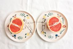 Plates  Dance Collection by lamalconttenta on Etsy, €35.00