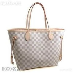 Louis Vuitton Never Full GM Damier Canvas (PM = Small, MM = Medium, GM = Large)