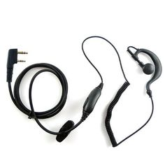 TENQG Shape Earpiece Headset PTT for 2 PIN Kenwood Baofeng Puxing Quansheng Weierwei Wouxun Radio PX777 PX777 PLUS PX666 PX3288 PX888 TGK4AT TG2AT TG45AT TG42AT TG22AT TG25AT VEV3288S VEV6288 VEV3288 Etc ** Read more reviews of the product by visiting the link on the image.