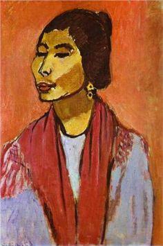 Henri Matisse - Fauvisme - A very little known portrait of Joaquina