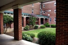 MYNDERS HALL by Midge Gurley on Capture Memphis // The University of Memphis began in 1912 as West Tennessee State Normal School.  Mynders Hall, built as a woman's dorm,  is one of the original buildings still remaining on campus from those days.