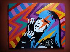 Lobo pop art